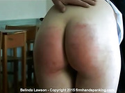 Caning finale leaves Belinda Lawson