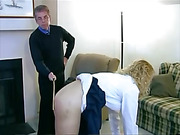 An extra stroke of the cane for pretty Amber Wells