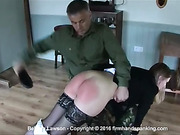 Belinda Lawson requesting a harder spanking