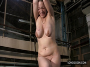 Busty blonde got hard punishment.