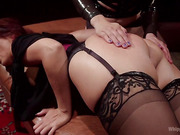 Pervert Therapy: Horny MILF bound, fisted and anally