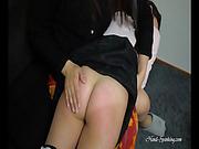 Graduation from spanking