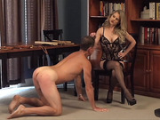 Spanking Bench Discipline With Leather