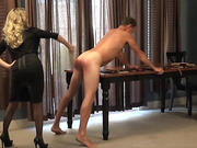 Over the Knee Spanking and Penis Smacking