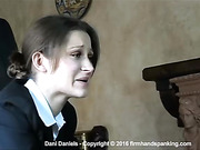 Dani Daniels strapped for being absent without permission