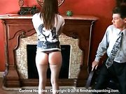 Corinne Hopkins bubble butt strapped bare