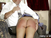 SPANKED AT SCHOOL STRAPPED AT HOME
