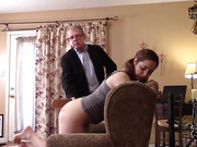 Adriana's Punishment - The Paddle - Part 1