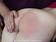 Lisa Langley as she discovers that she can still get spanked