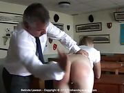 Belinda Lawson says a bare bottom spanking is good