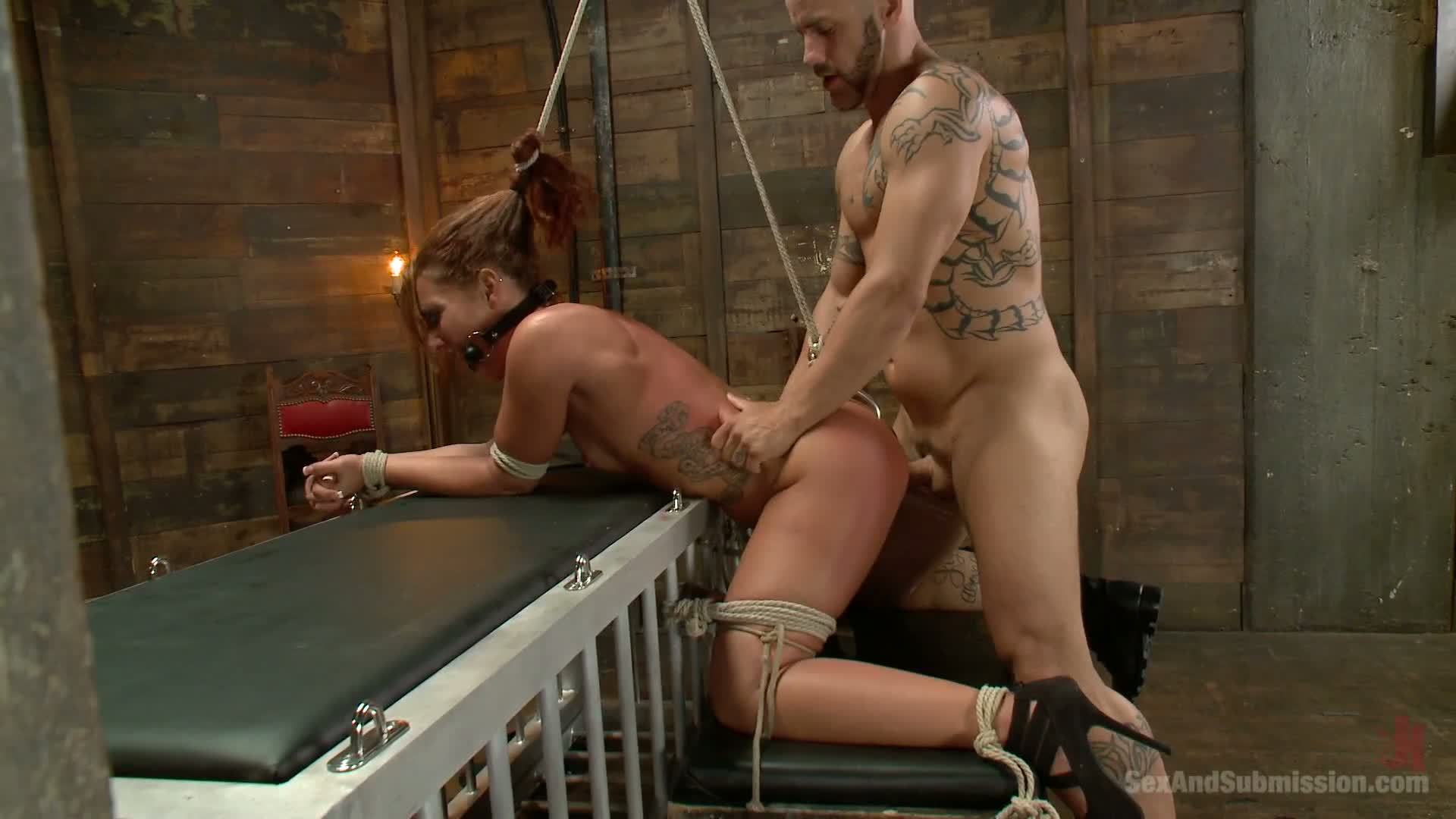 Anal Sex With Bondage savannah fox in bondage role play in anal sex - bdsm you