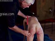 Worthless slave brutally whipped